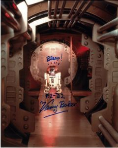 Kenny Baker - R2D2  STAR WARS Genuine Signed Autograph 10 x 8  11440
